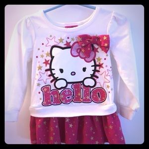 Hello Kitty Shirt Dress